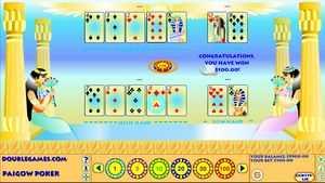 Egyptian Pai Gow Poker