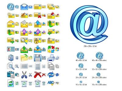 Download Email Icon Set