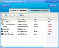 Download Email Password Recovery Master