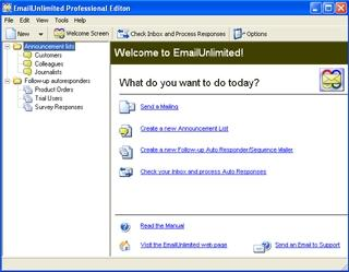 Download EmailUnlimited Free Edition
