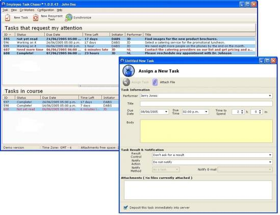Download Employee Task Chaser