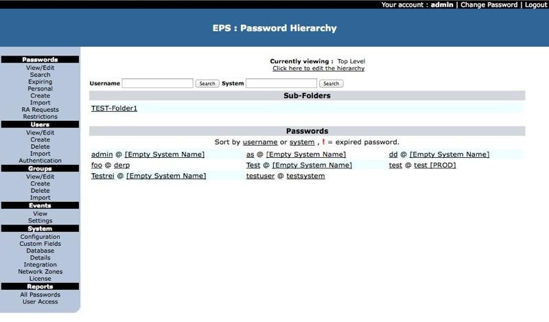 enterprise password management