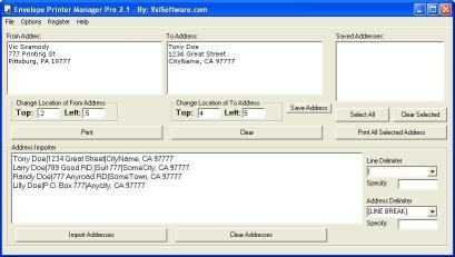 Download Envelope Printer Manager Pro