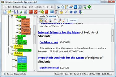 Download ESBStats - Statistical Analysis Software