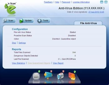 Download eScan AntiVirus Edition