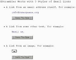 Download EScrambler, Webmaster Antispam Utility