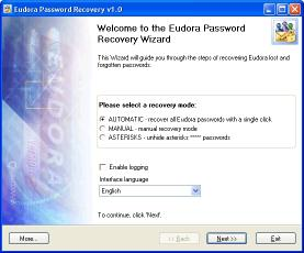 Download Eudora Password Recovery