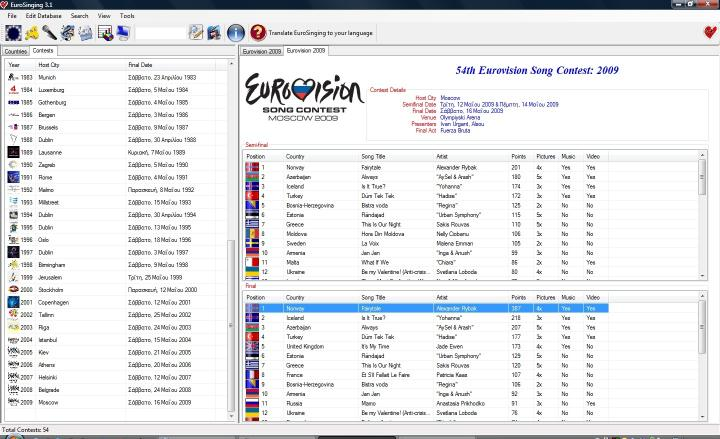 Download EuroSinging