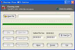 Eusing Free MP3 Cutter
