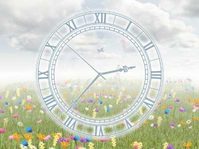 Everlasting Flowering Clock screensaver