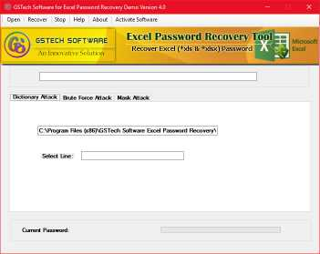 Excel 2016 Password Recovery Software