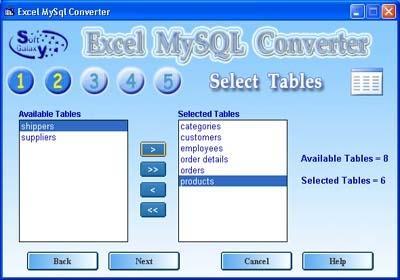 Download Excel MySQL Conversion software
