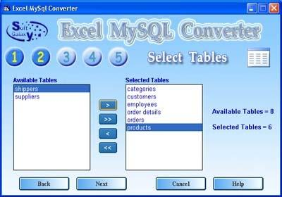 Download Excel-Mysql converter