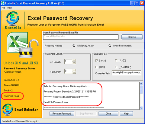 excel password recovery software with crack free