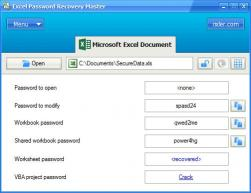 Download Excel Password Recovery Master