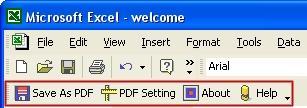 Download Excel to PDF Converter