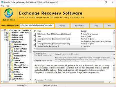 Exchange EDB to PST Converter Tools