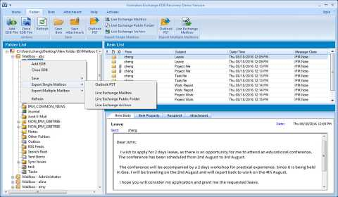 Exchange Recovery Software
