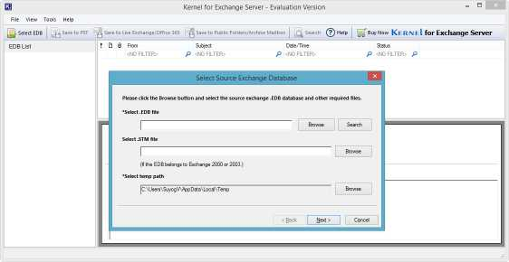 Download Exchange Server Data Recovery