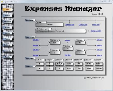 Download Expenses Manager