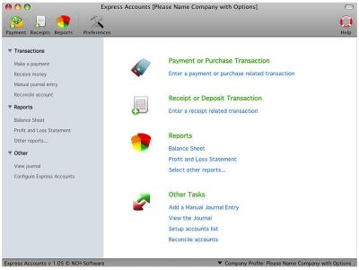 Download Express Accounts Accounting Software for Mac