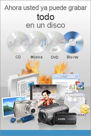 Express Burn Programa para grabar DVD