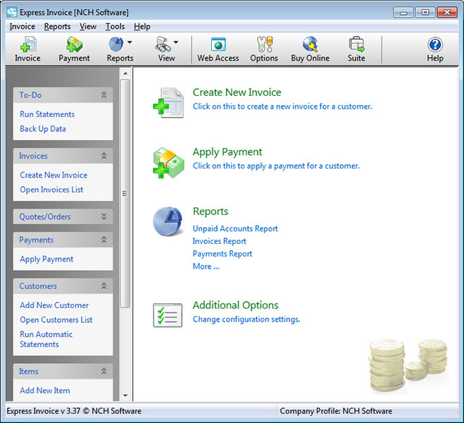 Nch express invoice 465 download. Free invoice download express.