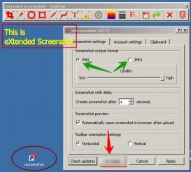 Download eXtended Screenshot