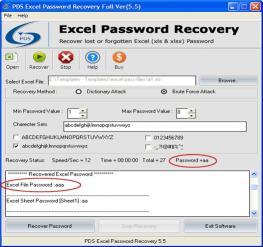 Download Extract Excel Password
