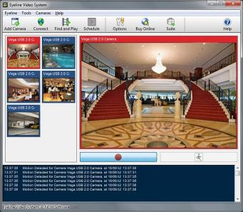 Download EyeLine Free Video Surveillance Software