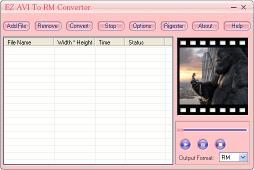 Download EZ AVI To RM Converter