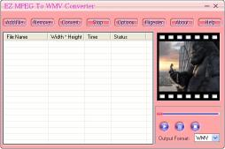 Download Ez MPEG To WMV Converter