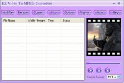 Download EZ Video To MPEG Converter