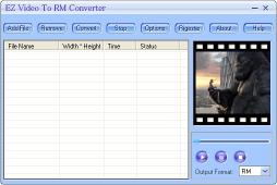 Download EZ Video To RM Converter