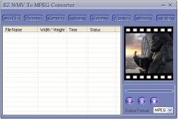 Download EZ WMV To MPEG Converter