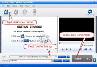 Download Eztoo 3GP Video Converter