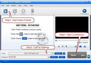 Download Eztoo FLV Video Converter