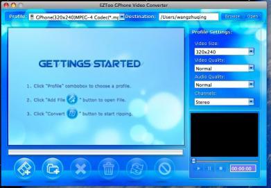 Download Eztoo GPhone Video Converter for MAC