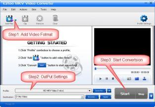 Download Eztoo MKV Video Converter