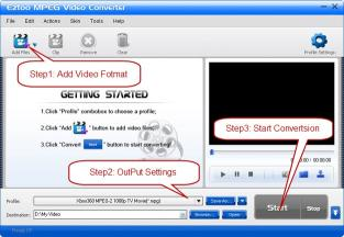 Download Eztoo MPEG Video Converter