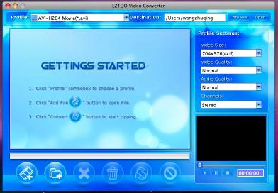 Download Eztoo Video Converter for MAC