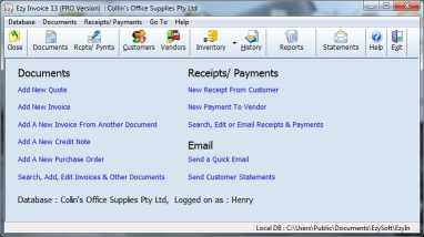 Download Ezy Invoice