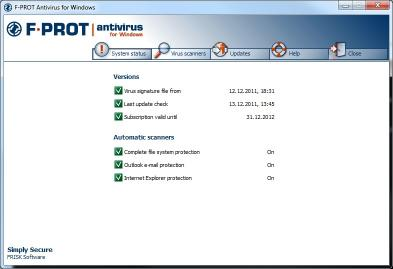 Download F-PROT Antivirus for Windows
