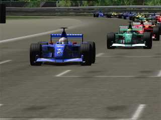 Download F1 Racing 3D Screensaver