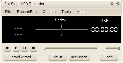 Download FairStars MP3 Recorder