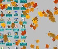 Download Falling Autumn Leaves Screensaver