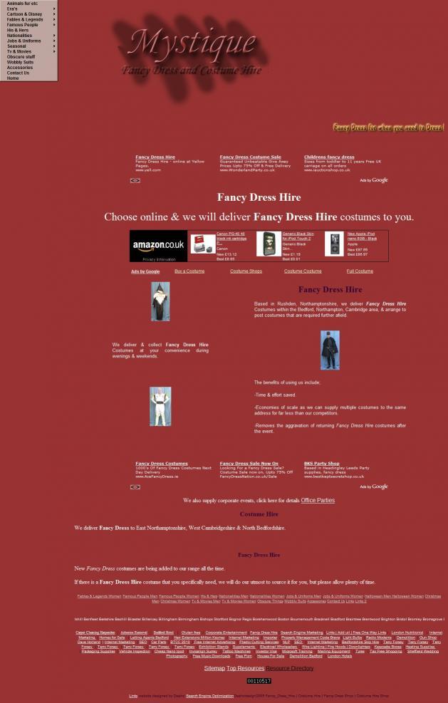 Download Fancy Dress Hire
