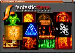 Download Fantastic Flame Screensaver