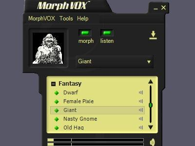 Download Fantasy Voices - MorphVOX Add-on