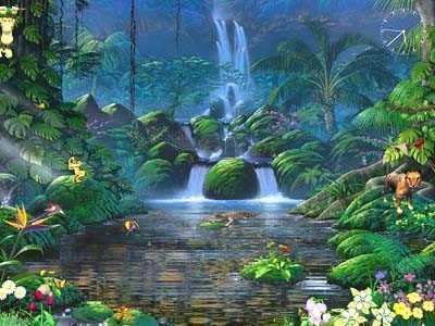 Download Fascinating Waterfalls Screensaver